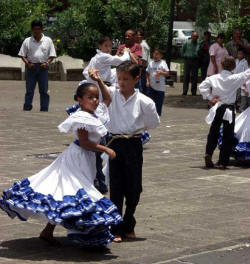 Children Dancing in park - Heredia -Costa Rica